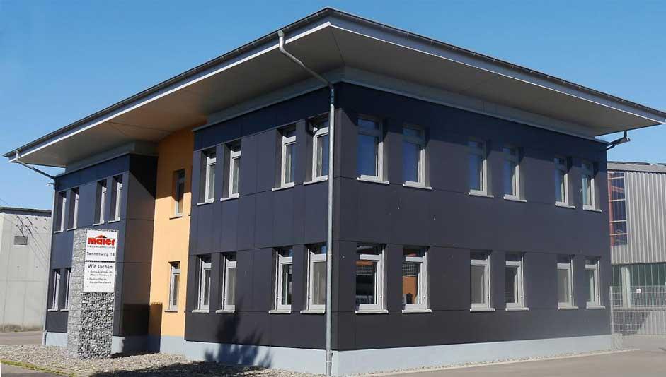 Firma Maier, Bauunternehmen, Ulm